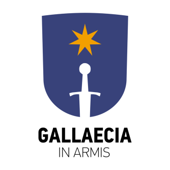GALLAECIA IN ARMIS logo color